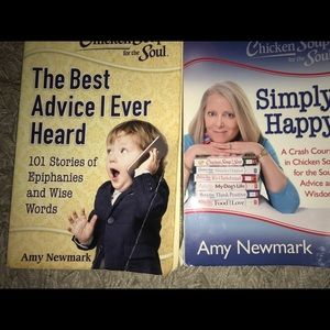 Chicken Soup for the Soul books - BUNDLE of 2!!!